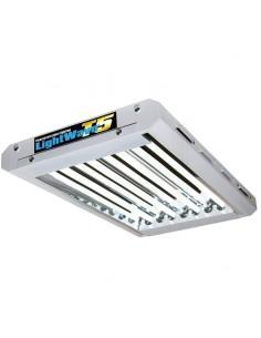 Rampe néons Lightwave T5 4x54w - 6500K Croissance - Growth Technology