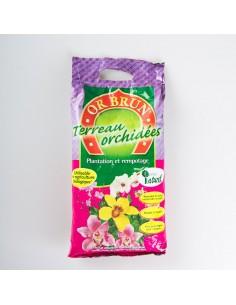 Or Brun Terreau Orchidées 5L
