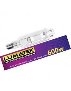 Ampoule Lumatek MH 600w E40 Metal Halide