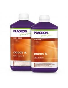 Coco A+B 1L Plagron , Engrais Croissance et Floraison pour la fibre de coco