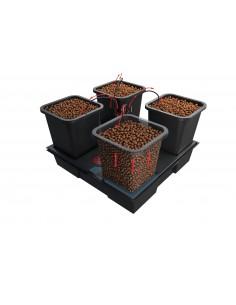 Système Hydroponique Wilma Small - 4 pots de 6 Litres - ATAMI