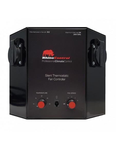 Contrôleur de Ventilation Thermostatique Silencieux - Rhino Control 8A