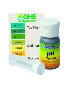 Testeur PH Kit Manuel 200 Tests - GHE