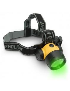 Lampe frontale verte LED