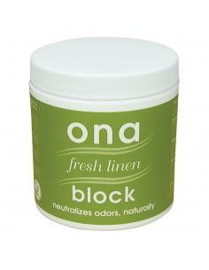Blocks fresh linen