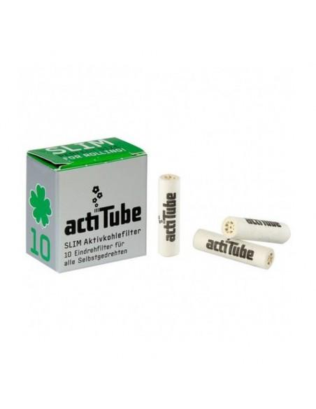 Filtres charbon ActiTube Slim - Boîte de 50