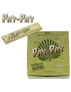 Boîte de 50 Feuilles à rouler Pay Pay Go Green Slim