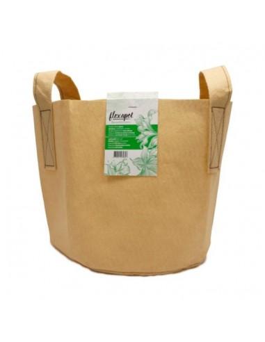 FLEXAPOT - Pot Textile Beige 3.8L 1 Gallon