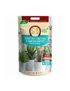 substrat cactus or brun 5l