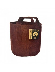 POT GÉOTEXTILE MARRON 16L